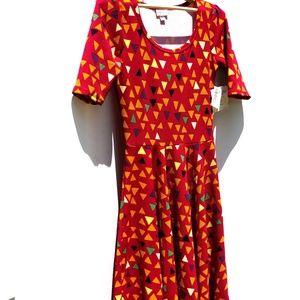 LuLaRoe NWT Nicole Dress - Size: S